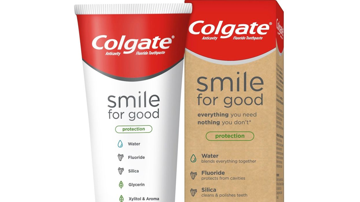 Colgate Releases Vegan-Certified Toothpaste in First-of-Its-Kind Recyclable Tube