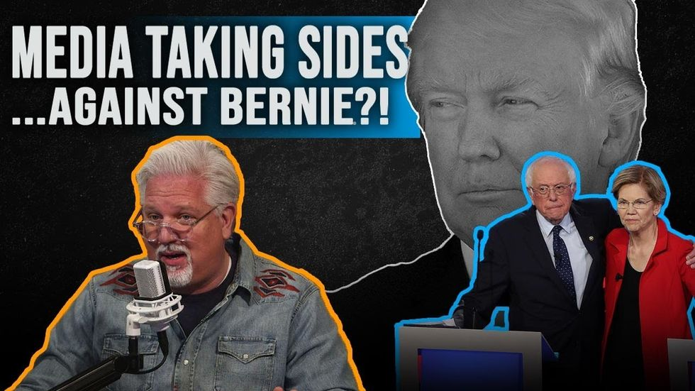 Partner Content - BERNIE SANDERS AGAINST A WOMAN PRESIDENT? Democratic debate, Elizabeth W...