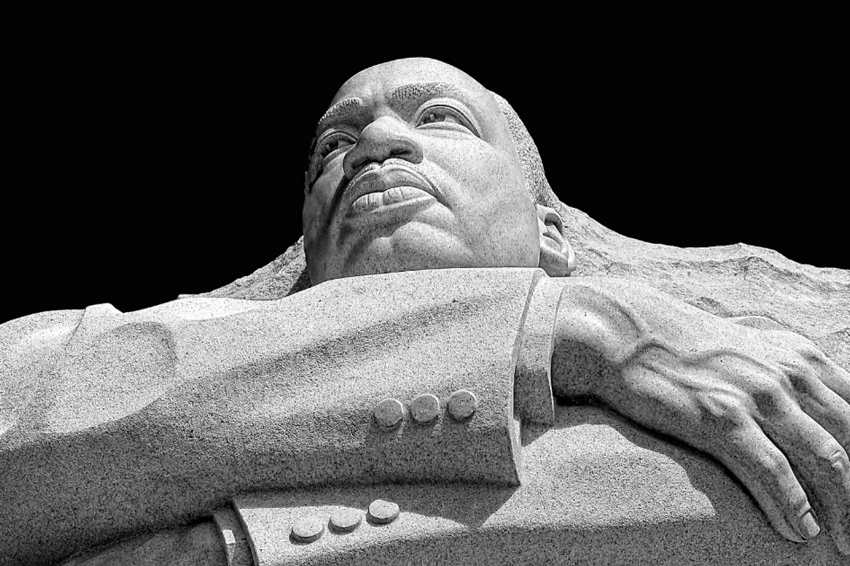 Before you share an MLK quote, understand that you're quoting a proud political radical