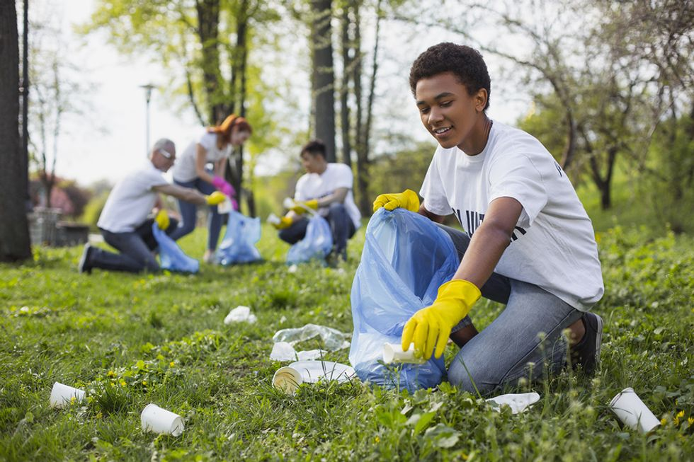 Community service and volunteerism are an important part of a company's culture.