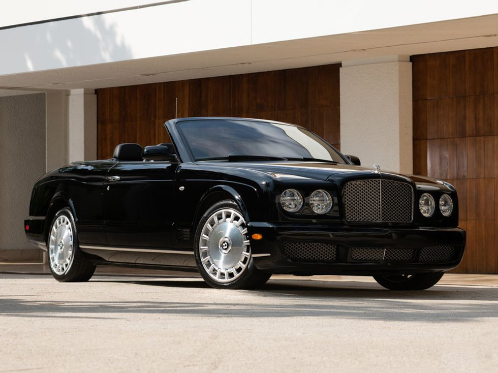 Simon Cowell's 2009 Bentley Azure Convertible