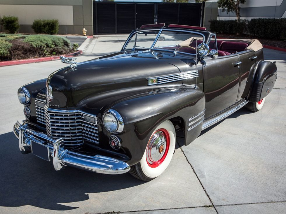 Travis Barker's 1941 Cadillac Series 62 Deluxe Convertible