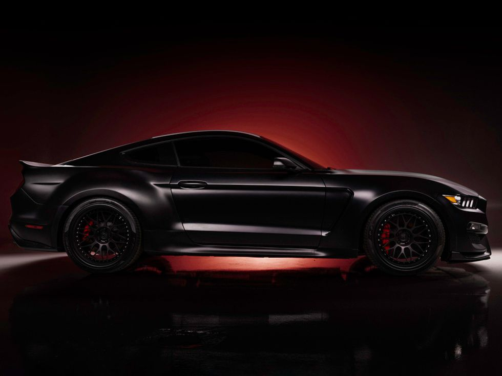 Madison Bumgarner's 2018 Ford Shelby GT350 Custom Coupe