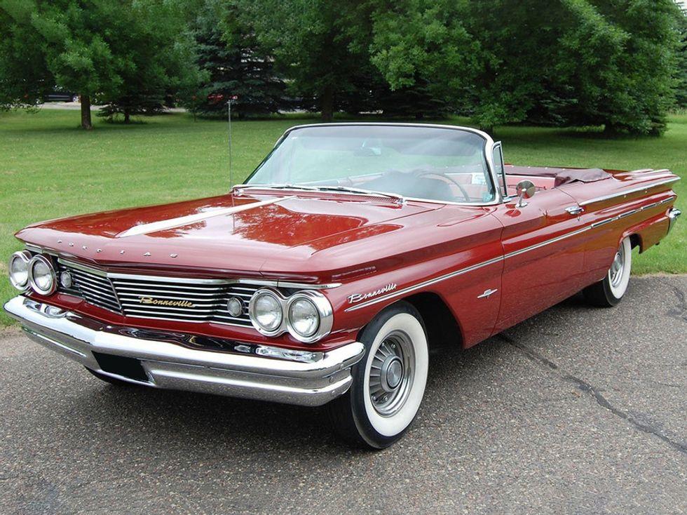 Clive Cussler's 1960 Pontiac Bonneville Convertible