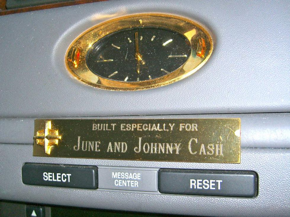 Johnny Cash's 2001 Lincoln Town Car Cartier L