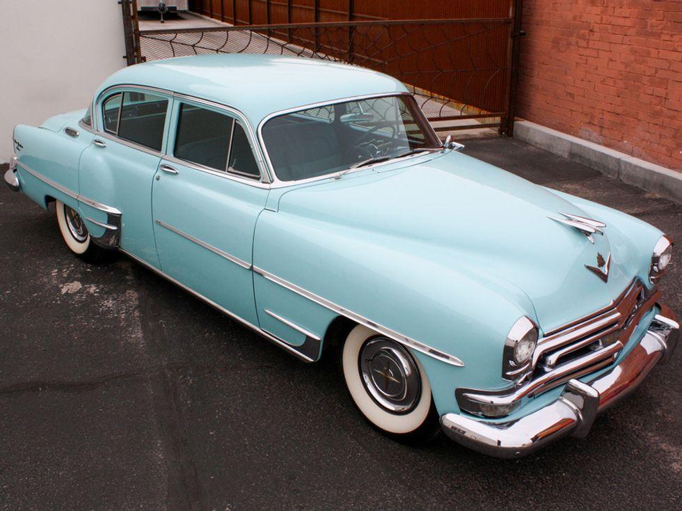Howard Hughes' 1954 Chrysler New Yorker