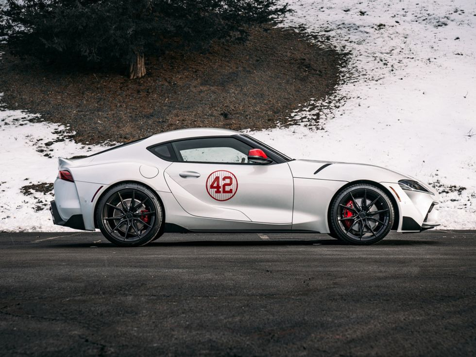 2020 Toyota Supra Mariano Rivera's Launch Edition
