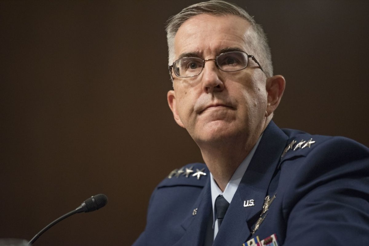 Joint Chiefs vice chairman accused of sexual assault appoints special assistant to fight military sexual assault