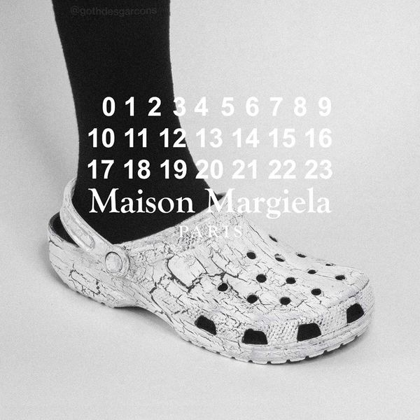 You Need These Margiela-Inspired 'Goth Crocs'