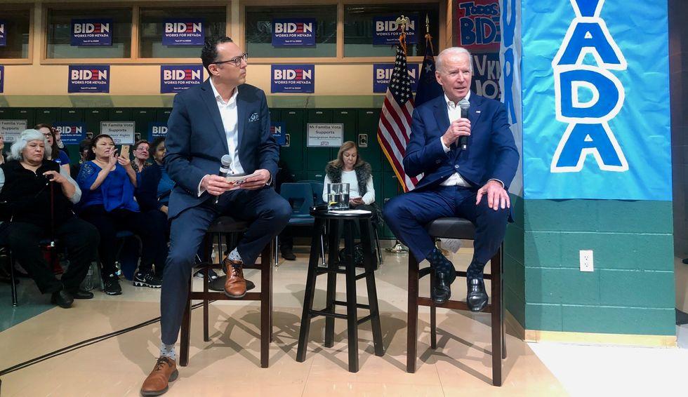 Joe Biden Responde a la Comunidad Latina en Las Vegas