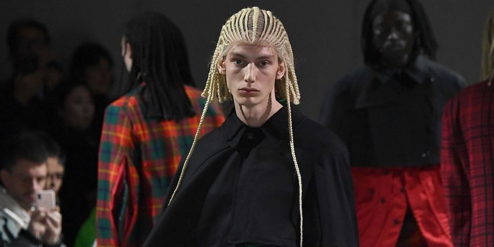 Comme Des Garçons Comes Under Fire After Styling White Models With Cornrows