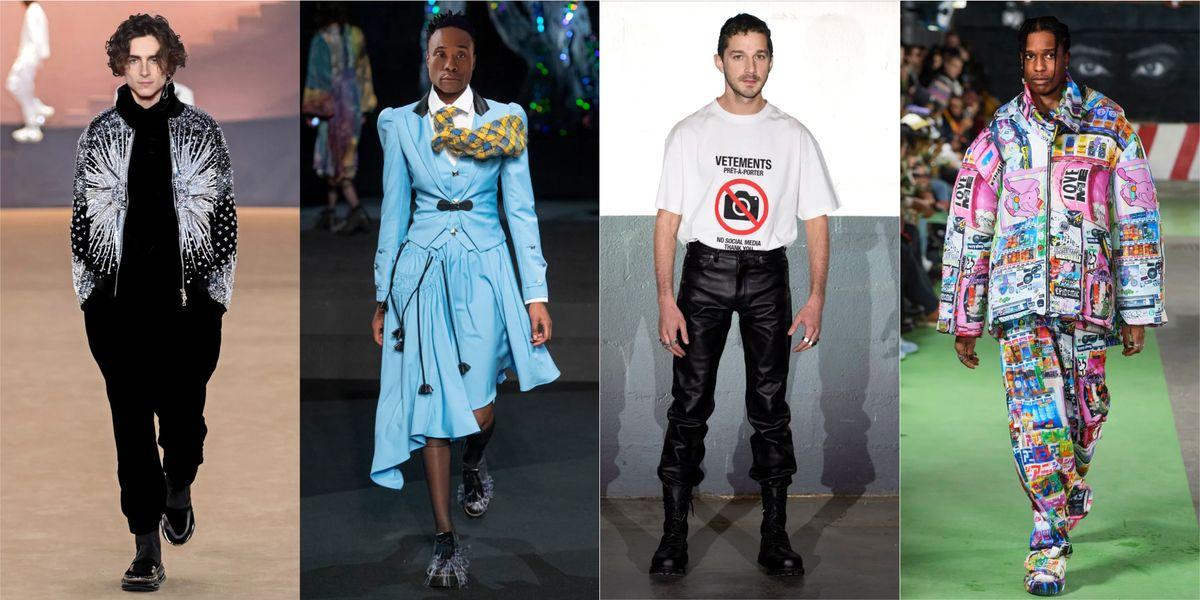 Fashion FanFic: 7 Celebs in Our Dream Fall 2020 Menswear Looks