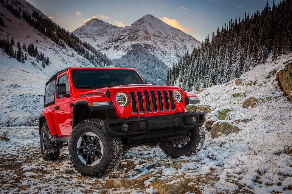 2020 Jeep Wrangler Rubicon in Firecracker Red