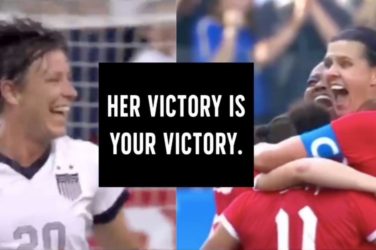 Abby Wambach hands soccer record to Christine Sinclair with a powerful message for women