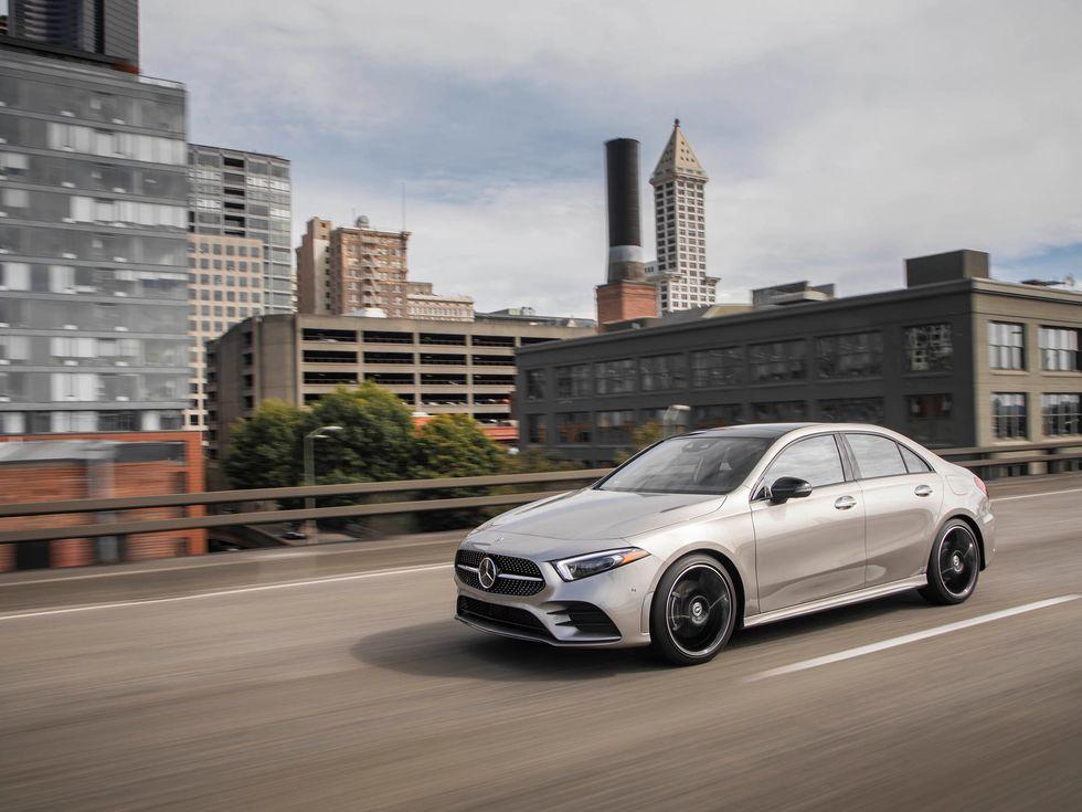 2020 Mercedes-Benz A22 in Mojave Silver Metallic