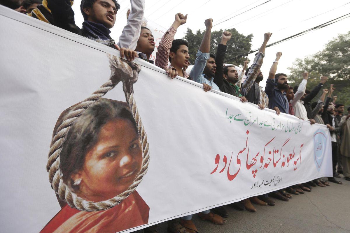 «Asia Bibi è la voce dei cristiani oppressi»