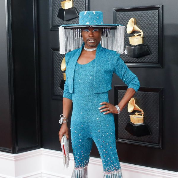 The Story Behind Billy Porter's Grammys Look