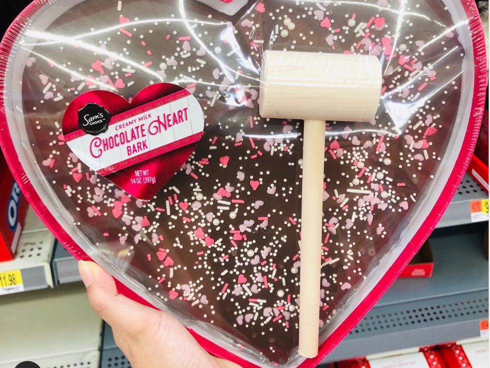 Walmart Is Selling A Giant Smashable Heart For Valentine's Day, So You Can Pretend It Belongs To Your Ex