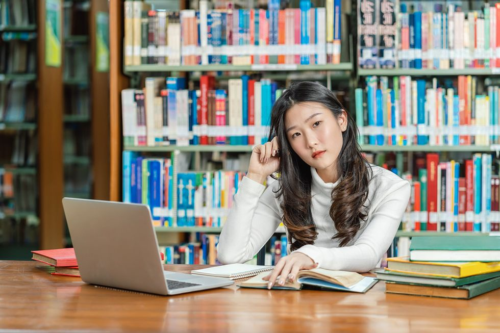 College student undecided about her career path