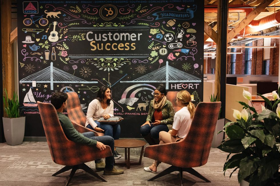 HubSpot employees collaborate often about the best ways to ensure customer success.