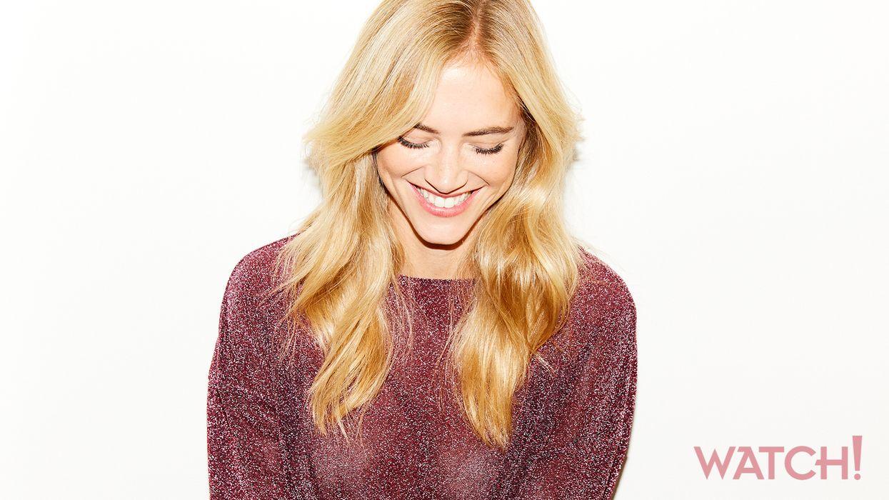Emily Wickersham smiling.