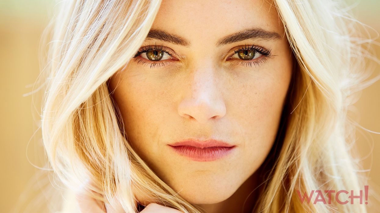 Close-up portrait of Emily Wickersham.
