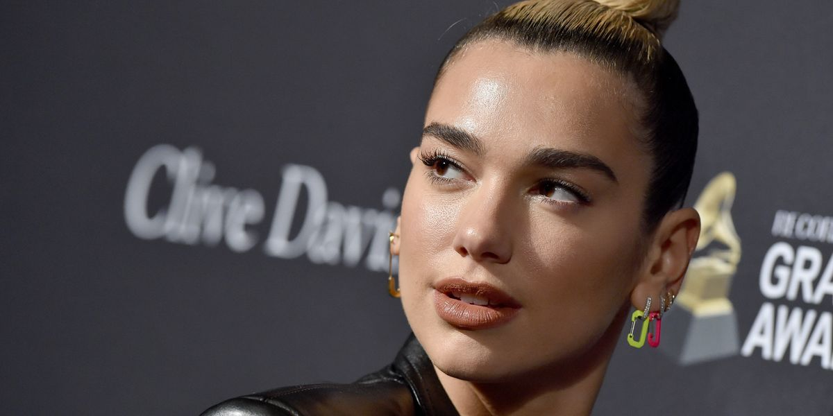Dua Lipa's Latest Manicure Brings Together Two Major Nail Trends