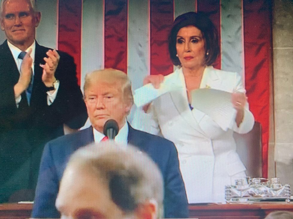 Speaker Pelosi's Acts At The SOTU Were Disrespectful To The Citizens Of The United States