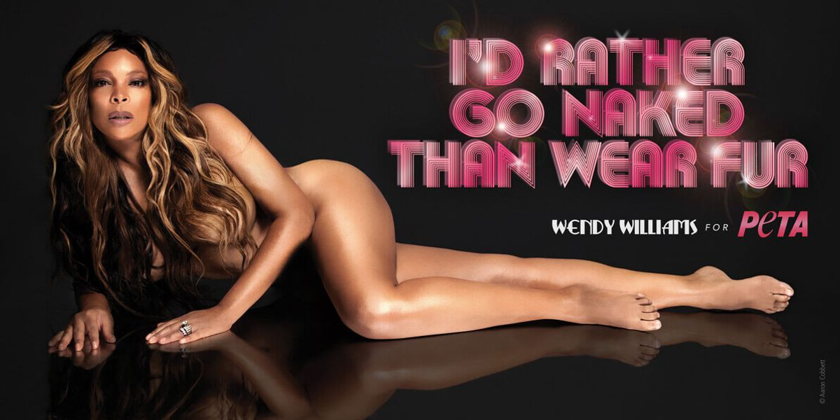 PETA Is Retiring Its Famous 'I'd Rather Go Naked' Campaigns