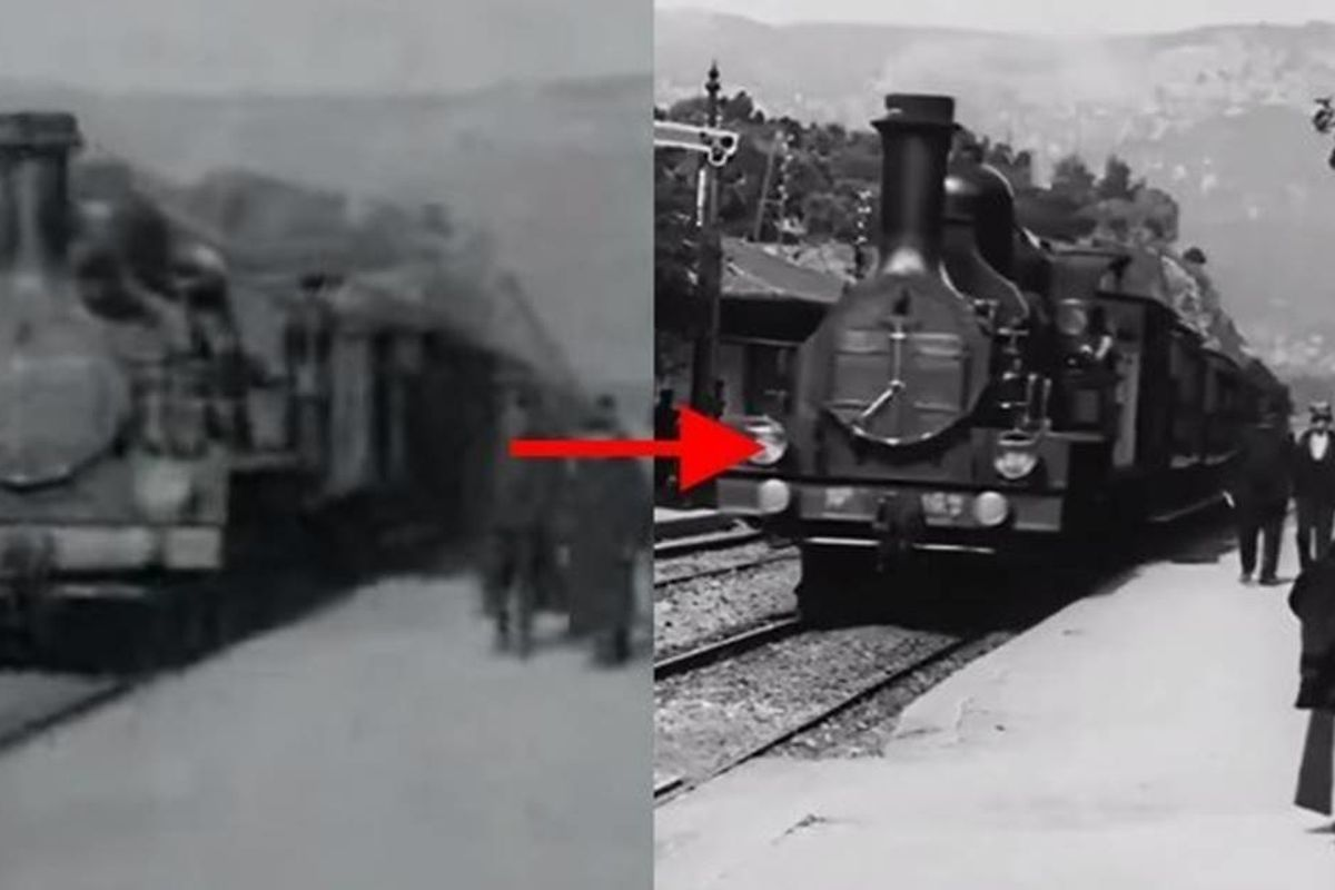 Historic footage from 1896 has been beautifully remastered to look like it was shot in 2020