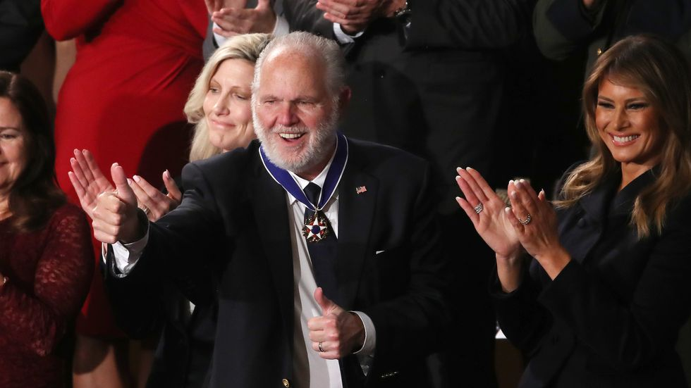 23 Rush Limbaugh Quotes That Should Automatically Disqualify Him From Receiving The Medal Of Freedom