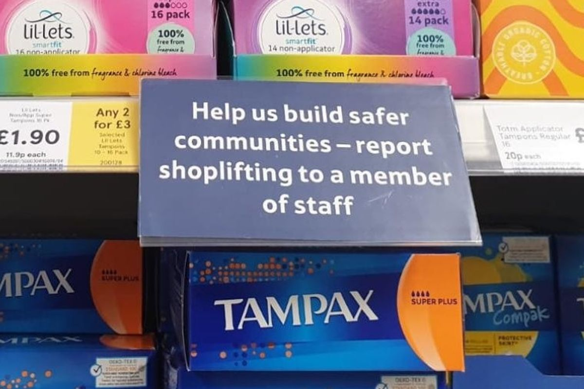 A grocery chain asked people to report tampon shoplifters. It sparked a backlash about women's health.