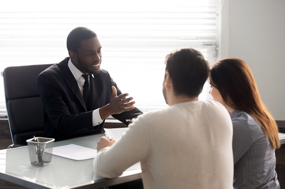 Lawyer uses his good judgement when talking to his clients