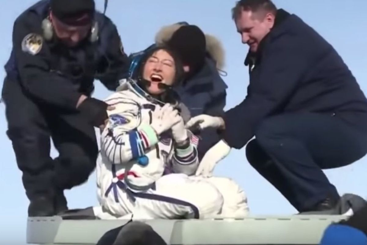 Congrats to US astronaut Christina Koch for breaking the women's space mission record