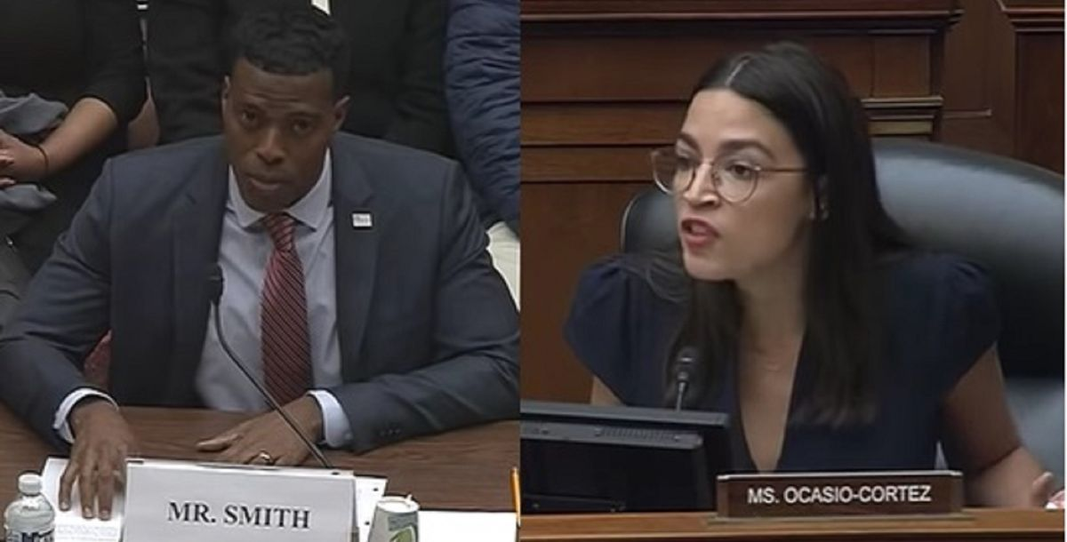Veteran slams AOC after she lectures that it's 'impossible' for someone to pull themselves up by their bootstraps