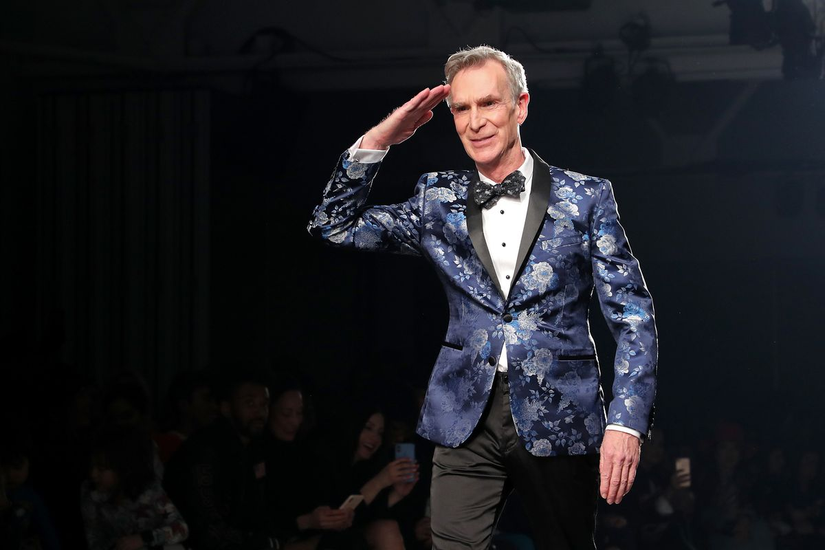 Bill Nye Danced to Lizzo Down a NYFW Runway