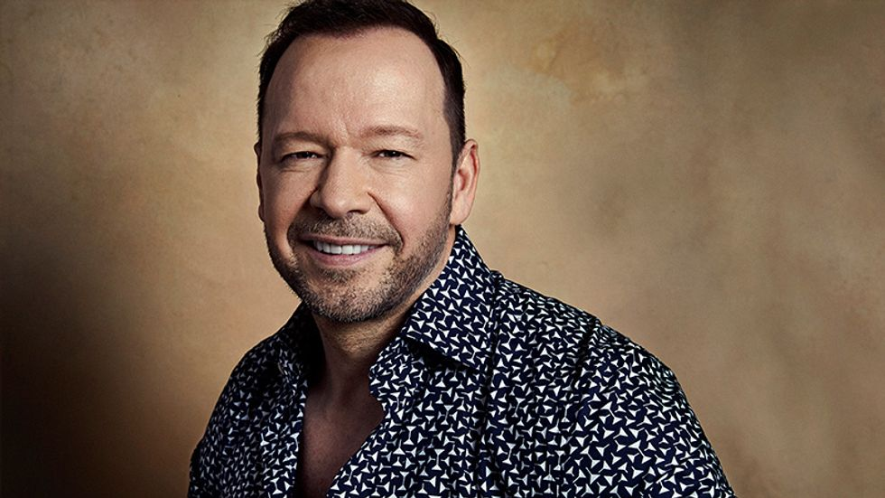 A Smiling Donnie Wahlberg