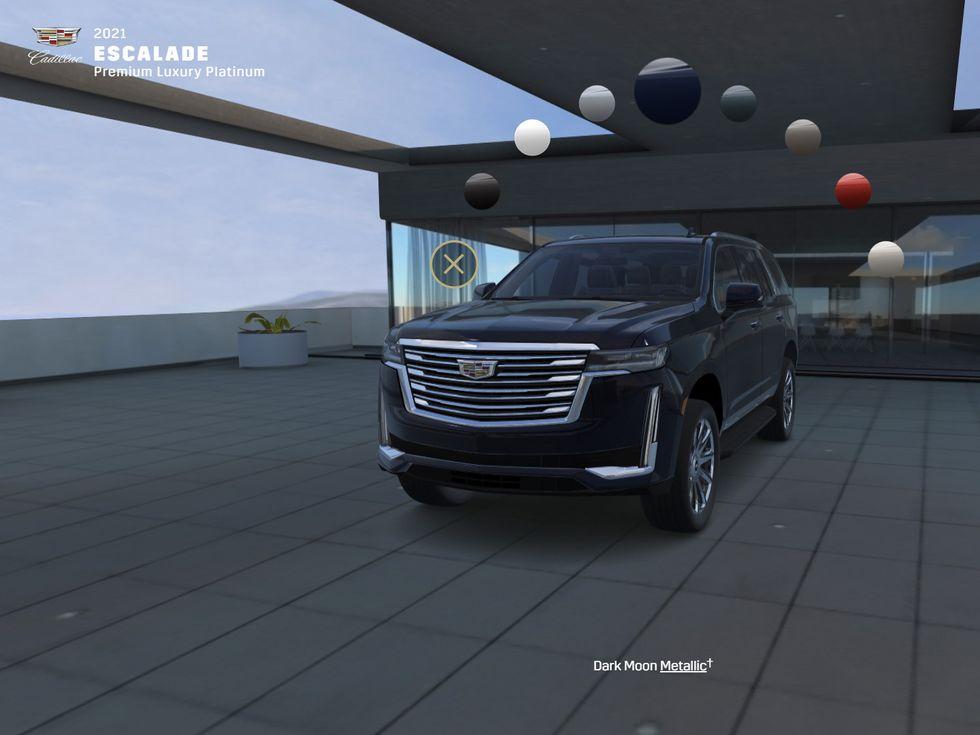 2021 Cadillac Escalade Cofigurator tool