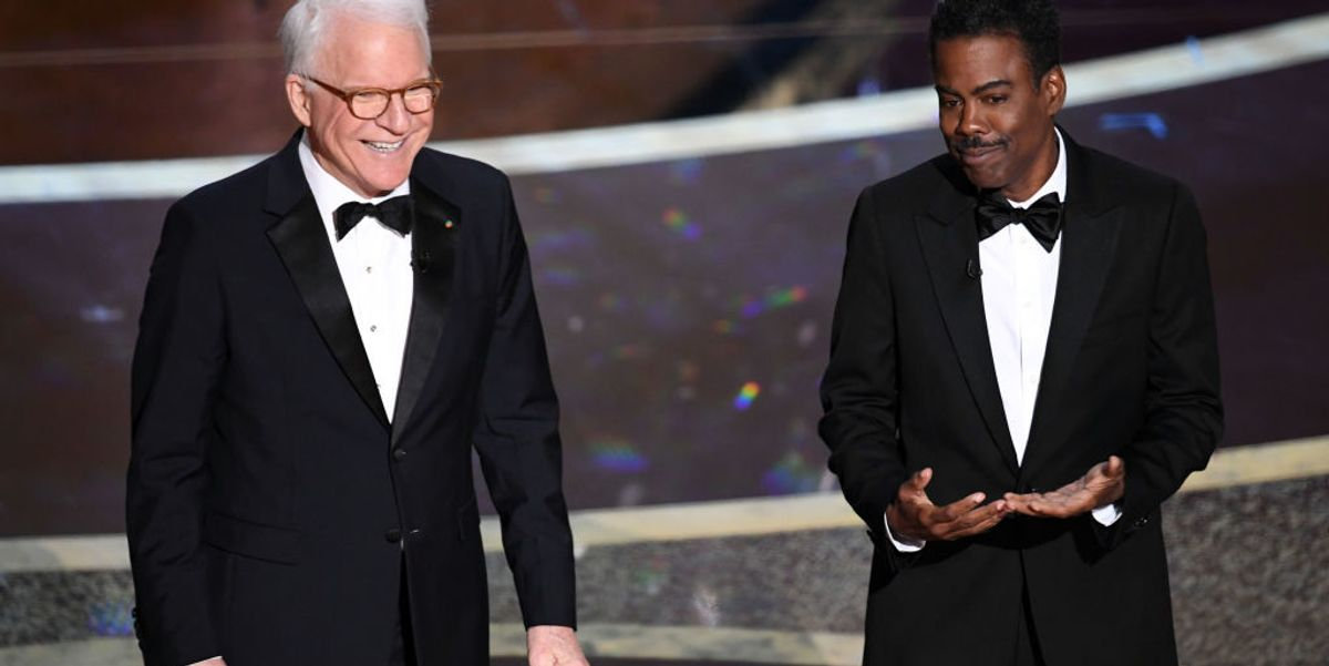 VIDEO: Chris Rock, Steve Martin jab Democratic Party, LA homeless problem at Oscars