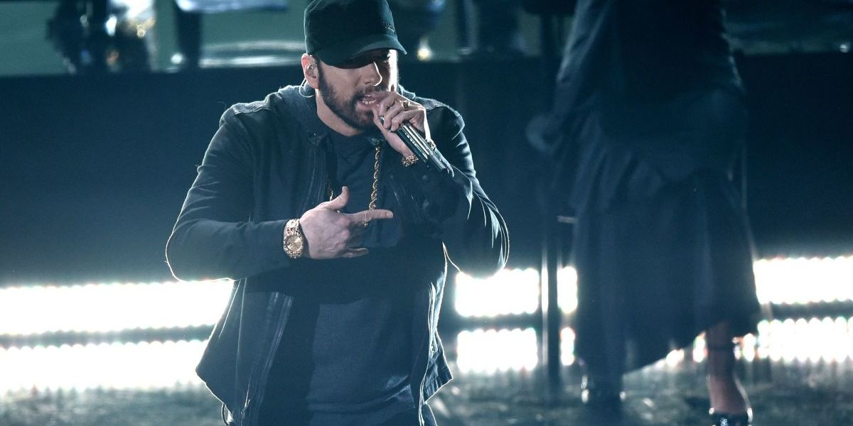 Nobody Asked for Eminem's Surprise Oscars Performance