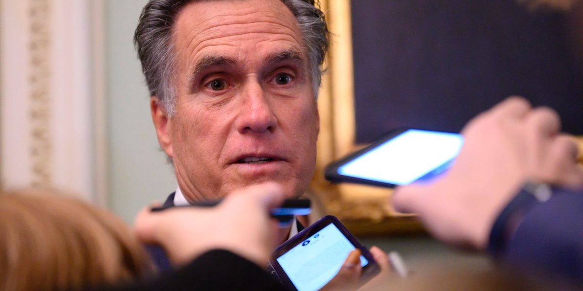 Utah GOP resolution would demand Mitt Romney support President Trump or vacate his seat