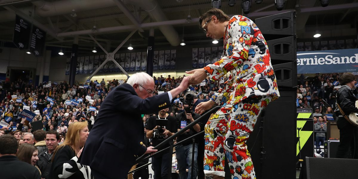 Bernie Sanders Made the Strokes Cool Again