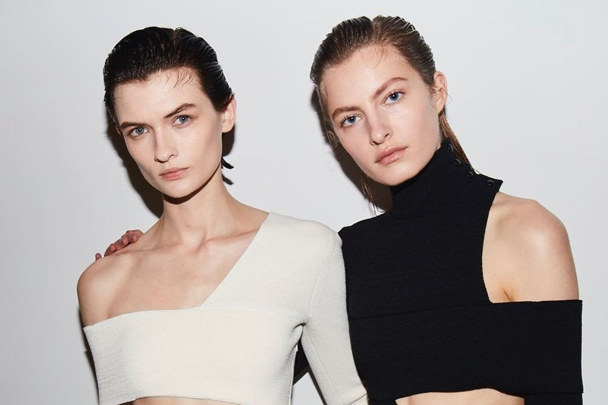 At Proenza Schouler, the Hair Looked Sexy Pushed Back