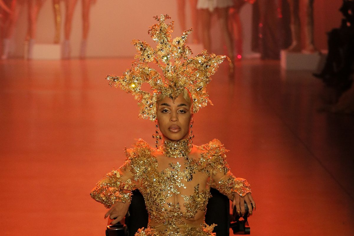 Jillian Mercado Has Her Runway Moment at The Blonds