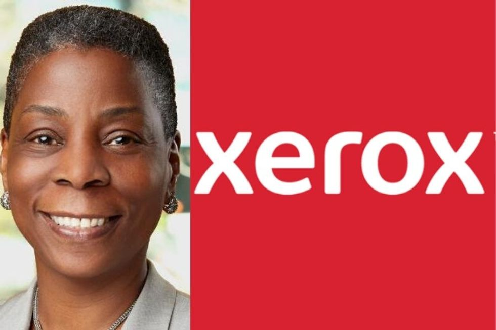 Ursula Burns served as CEO of Xerox from 2010 to 2017.