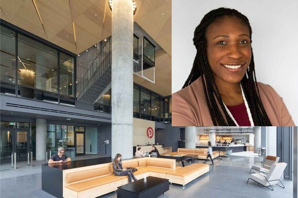 Candice Morgan served as head of inclusion for Pinterest from 2016-2019. She now works for GV.