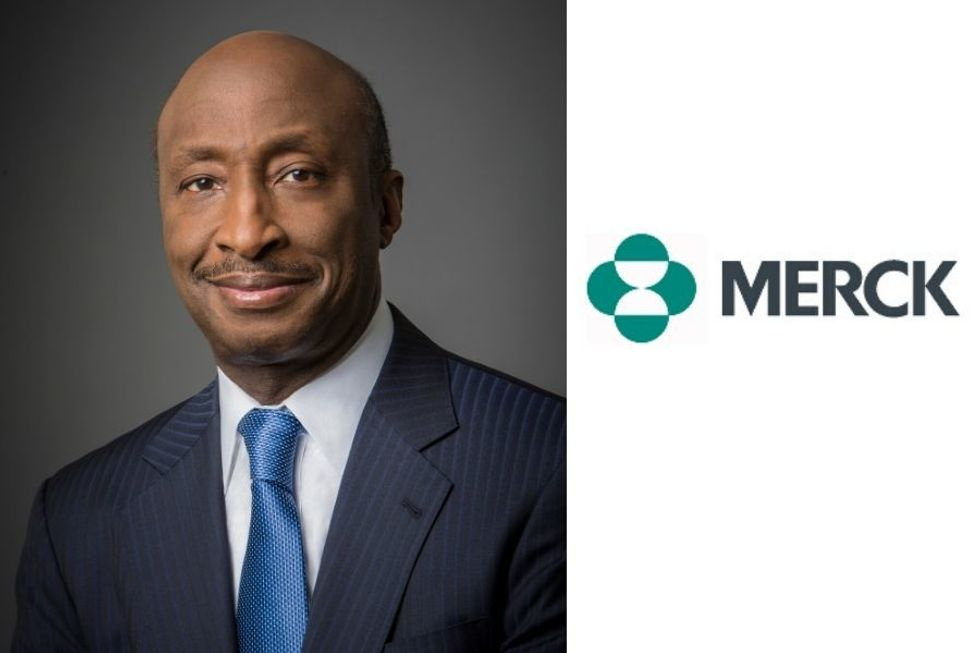 Kenneth C. Frazier is the leader of Merck & Co.