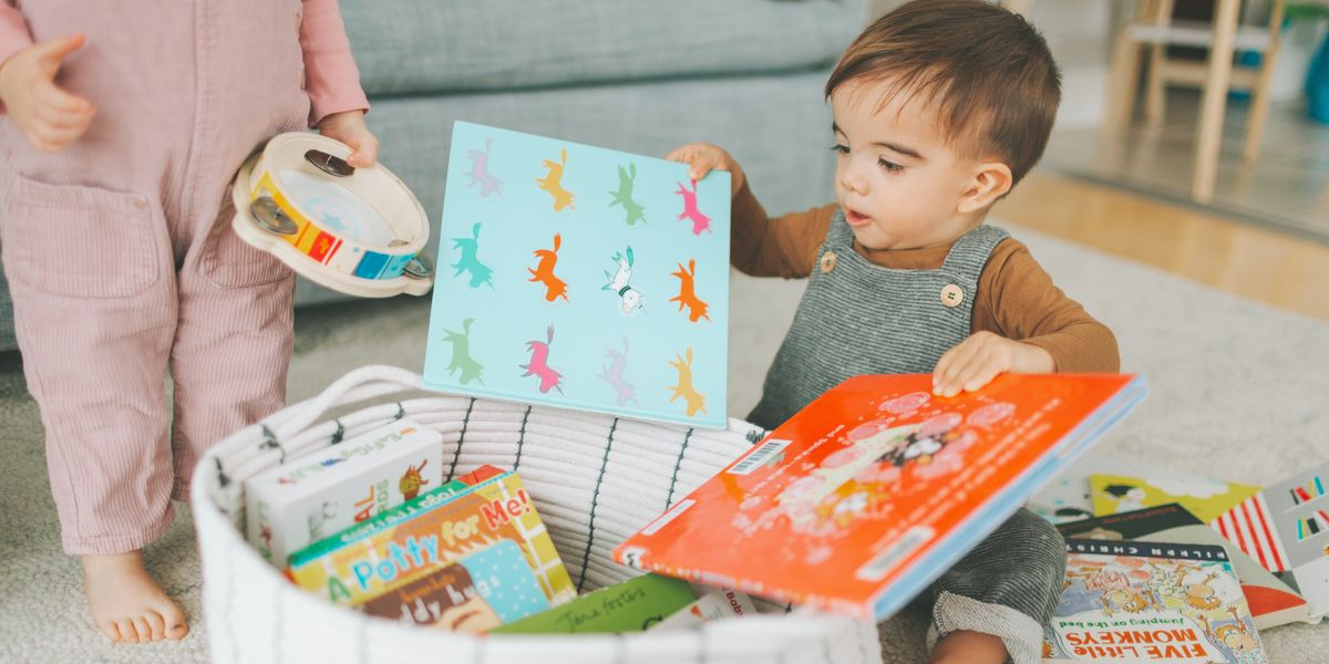 I re-organized our playroom to be Montessori-ish—and it made a huge difference