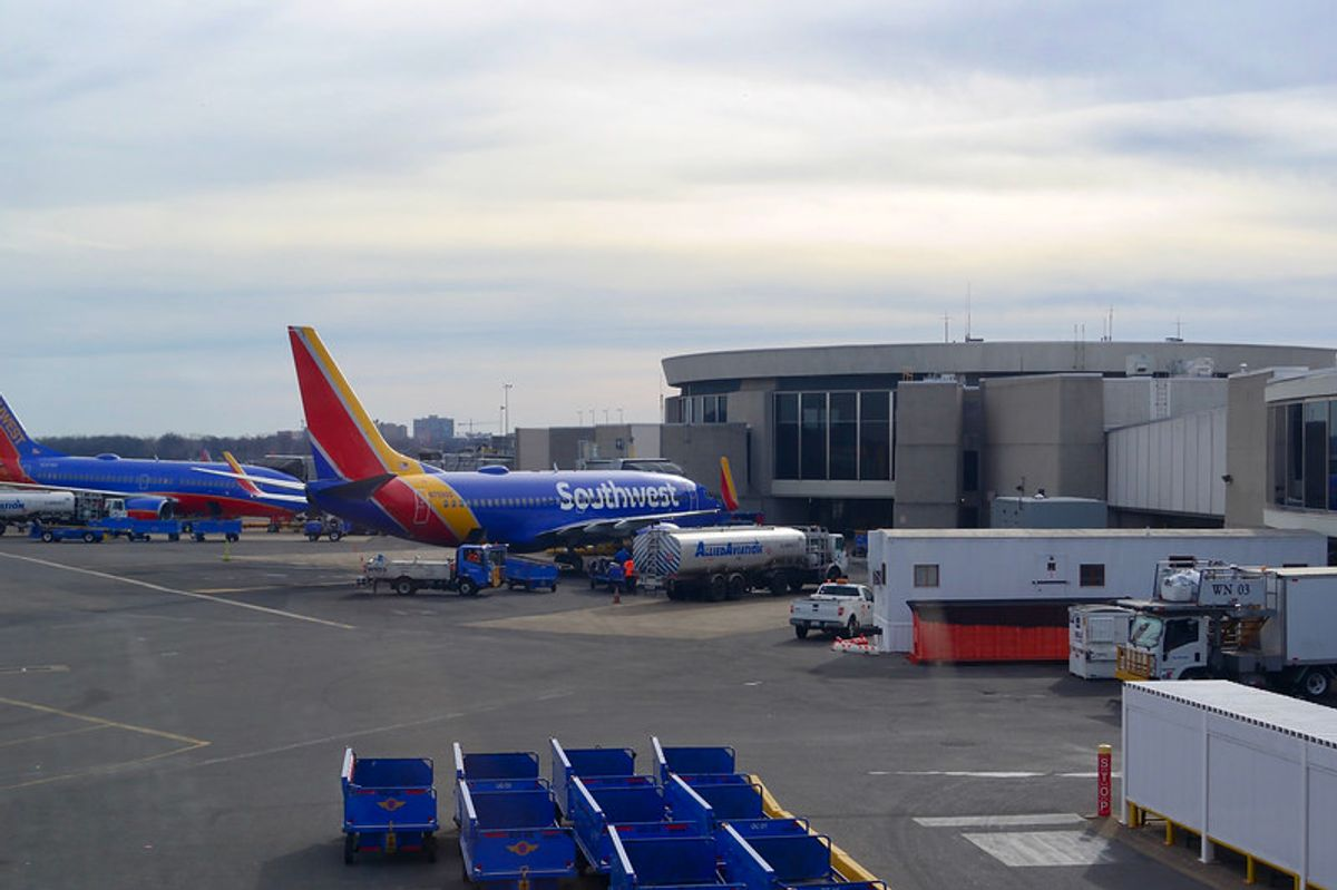 Southwest is now telling people to report 'unwelcome behavior' to combat in-flight assault