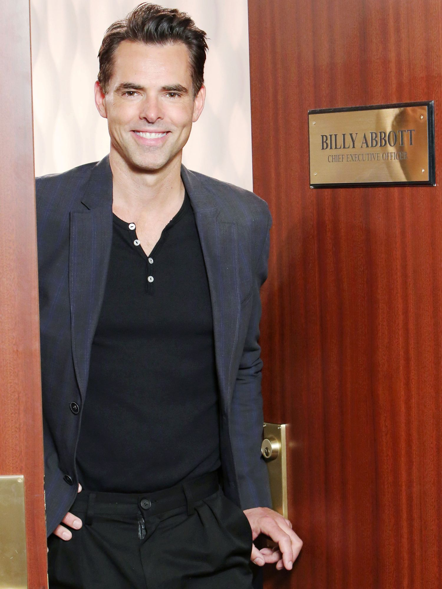 Jason Thompson playing character Billy Abbott on The Young and the Restless.\u200b